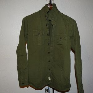 American Eagle Army Green Jacket